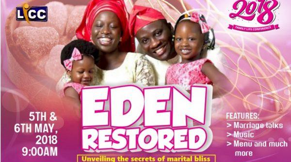 Eden Restored Part 1 Image