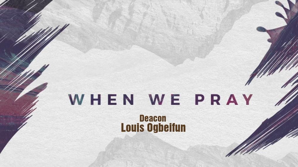 When We Pray Image