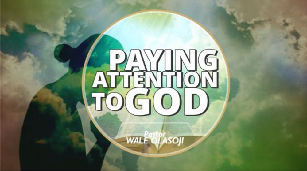 Paying Attention To God Image