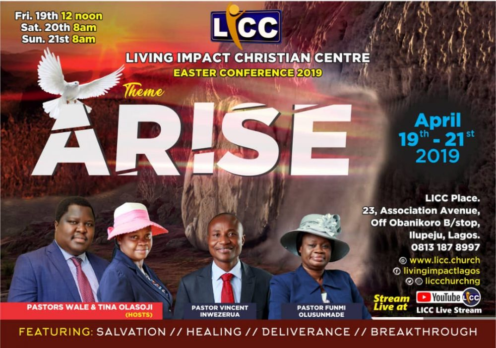 NATIONAL EASTER CONFERENCE 2019