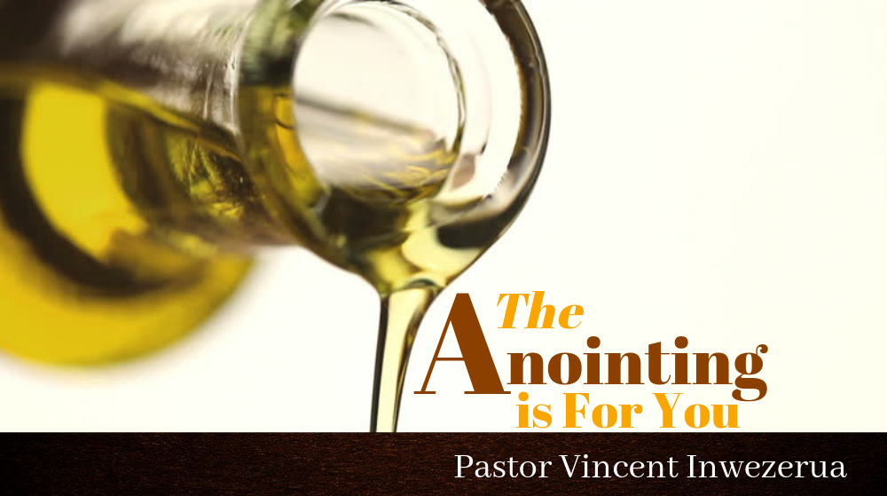 THE ANOINTING IS FOR YOU Image