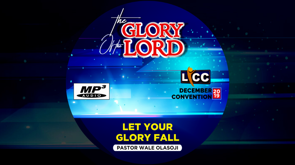 Let Your Glory Fall Image